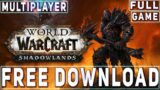 Download World of Warcraft: Shadowlands on PC (TUTORIAL) 2020   Full Game for Free