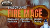 Shadowlands Fire Mage   DPS Guide 9.0   Covenant, Legendaries, Rotation & Much More
