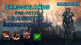 Shadowlands Pre-Patch BM Hunter Beginner's Guide