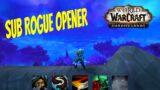 Subtlety Rogue Opener, Talents, Legendaries & Gameplay | WoW Shadowlands 9.0 Beta