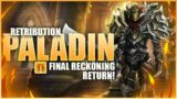 WoW 9.0.2 Shadowlands – Ret Paladin PvP – Final Recking People in Mid