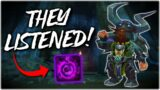 THE GODS HAVE LISTENED! – WoW Shadowlands 9.0.2 Affliction Warlock PvE