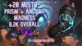 Mists +20   Ancient + Prism 8.2k   Shadow Priest PoV – Chawy   Shadowlands M+ (Mythic Plus) Season 1