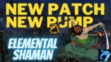 NEW PATCH NEW PUMP!!! Elemental Shaman 3v3 Arena PvP Shadowlands 9.0.5