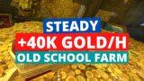 Steady +40k gold/h farm   Shadowlands Gold Farming