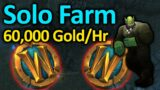 Easy Solo Gold Farm – 60,000 Gold Per Hour | Shadowlands Goldmaking Guide