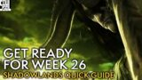 Shadowlands Week 26: What To Expect – World of Warcraft