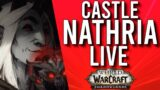 CASTLE NATHRIA RAID! FIRST RAID OF SHADOWLANDS! – WoW: Shadowlands 9.0 (Livestream)