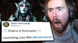 FINALLY! Asmongold on Patch 9.1 RELEASE DATE & New Changes | Shadowlands