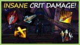 INSANE CRIT DAMAGE! | Marksmanship Hunter PvP | WoW Shadowlands 9.0.5
