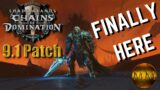 Shadowlands Patch 9.1 | Chains of Domination Release June 29th!! | START PREPARING!!! #Shorts