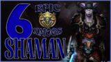 World of Warcraft Shadowlands – 6 Unique Shaman Transmog Sets