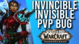 GAME BREAKING BUG! Actually Invisible In 9.1 Shadowlands – WoW: Shadowlands 9.1
