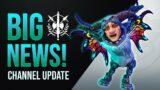 HUGE Project & Channel Announcement! | Shadowlands Patch 9.1