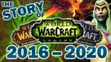 The Story of Warcraft from Legion to Shadowlands