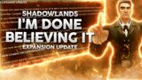 Now You Want To Listen? Truth Behind Shadowlands 9.1.5…