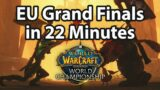European AWC Grand Finals in 22 Minutes | Summary & Highlights | WoW, Shadowlands, Season 2